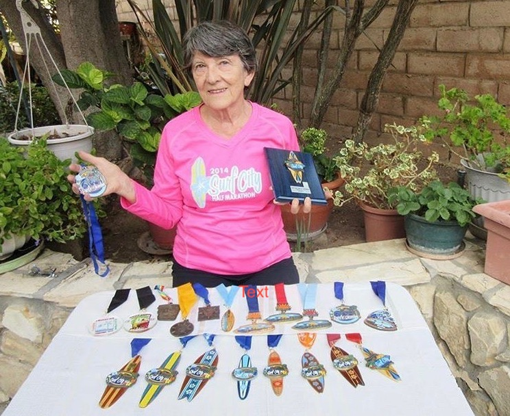 Nothing can stop this Surf City Marathon Legacy Runner